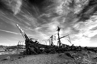 Pirate ship, Bombay Beach CA