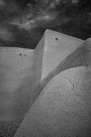 Ranchos de Taos church #5, NM (infrared)