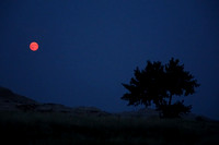 Moonrise, Badlands National Park SD