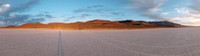 Self-portrait on Alvord Desert, OR