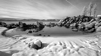 Sand Harbor, Lake Tahoe (infrared)