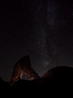 Lady Boot Arch and Milky Way, Alabama Hills, CA